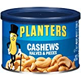 Planters Cashew Halves and Pieces, 8 Ounce, 12 Pack