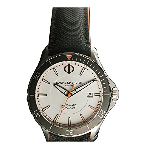 Baume-et-Mercier-Clifton-Automatic-White-Dial-Mens-Watch-MOA10337
