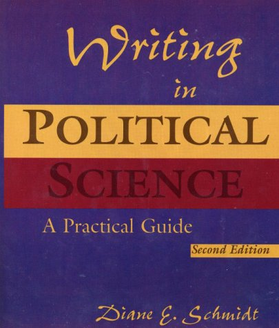 Writing in Political Science (2nd Edition)