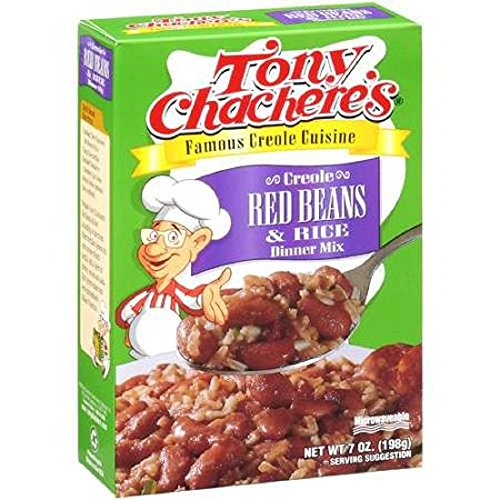 Red Beans Louisiana (Tony Chachere's Creole Red Beans and Rice (Pack Of 3))