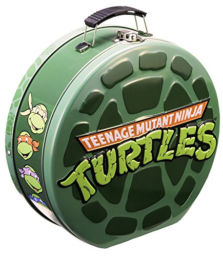 Vandor 38170 Teenage Mutant Ninja Turtles Shaped Tin Tote, Multicolored