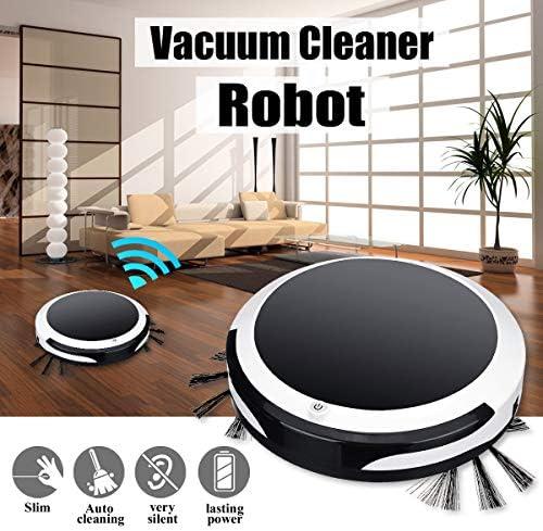 Joule Aspirateur robot intelligent 3 en 1 pour la maison, le bureau, le balayage, la machine à aspiration 1200PA humide et sec Aspirateur balayage