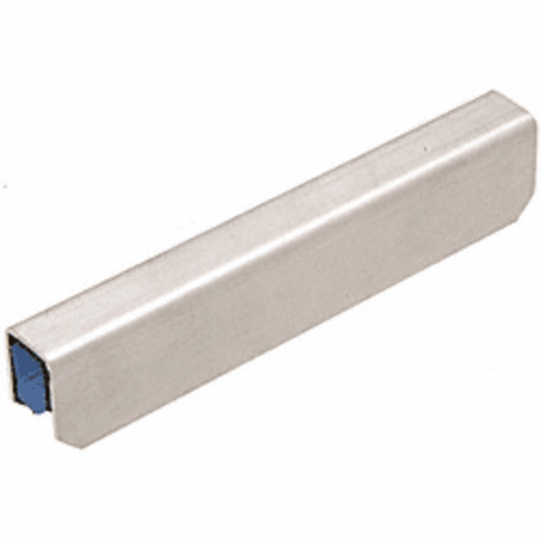 C.R. LAURENCE GRL10CSS CRL Stainless Steel Connector Sleeve for 1'' x 1-5/16'' 11 Gauge Cap Rail