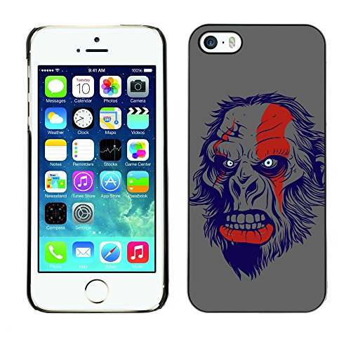 [ For APPLE IPHONE 5 / 5S ][ Xtreme-Cover ][ Coque Rigide Case Cover ] - Apes