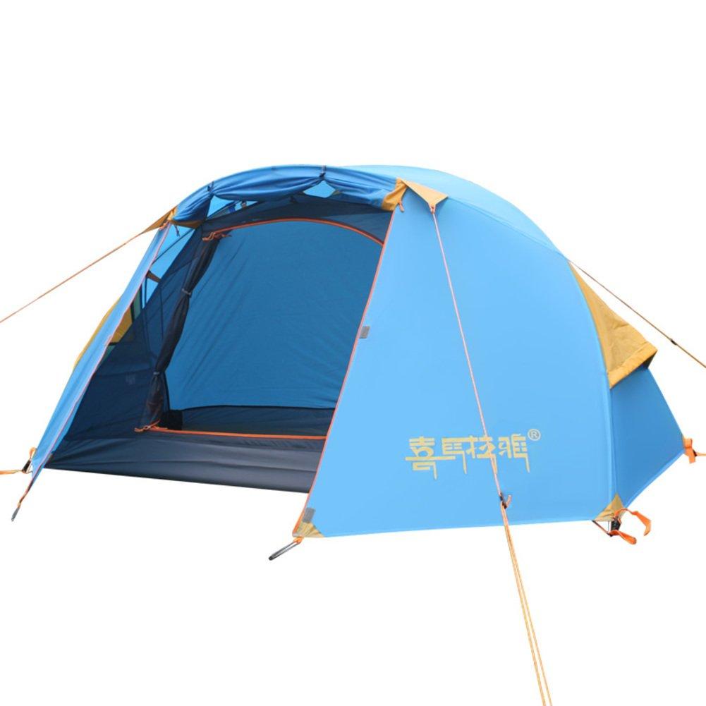 Outdoor-Zelt Doppelten leichten Aluminium Mast Zelt im Bereich vier Jahreszeiten Berg Regenschutz für camping