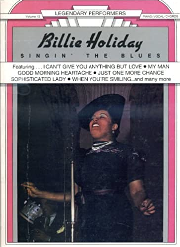 billie holiday singin the blues piano vocal chords legendary performers series