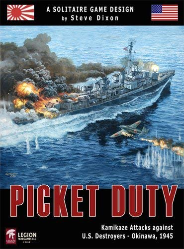- LEG: Picket Duty, Kamikaze Attacks Against US Destroyers at Okinawa 1945, Solitaire Board Game