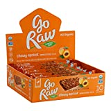 Go Raw Organic Sprouted Superfood Bars, Chewy Apricot (case of 10 small bars)