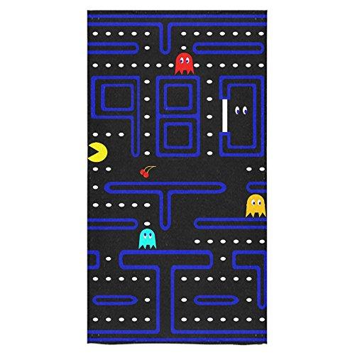 Pac Man Maze Custom Towel Beach Bathroom Shower Towel Bath Towel Personality And Perfect for Home, Bathrooms, Pool & Gym 30