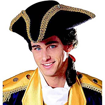 Tricorn Hat Adult Costume Accessory