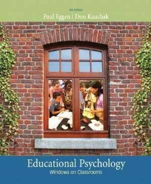 Educational Psychology Windows on Classroom