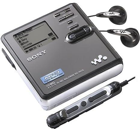 Sony MZRH10 Hi-MD Walkman Digital Music Player//Recorder MZ-RH10 VGC
