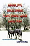 Wind Blows Grass Grows Stars Twinkle Above Large Print (Spirit Animal Large Print Book 10)