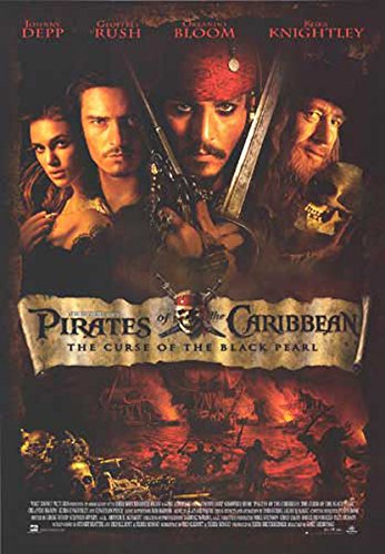 (POSTER STOP ONLINE Pirates Of The Caribbean - Movie Poster: Regular (Size: 27'' x 39) )