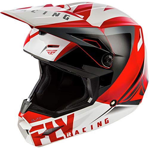 Fly Racing 2019 Elite Helmet - Vigilant (Large) (RED/Black)
