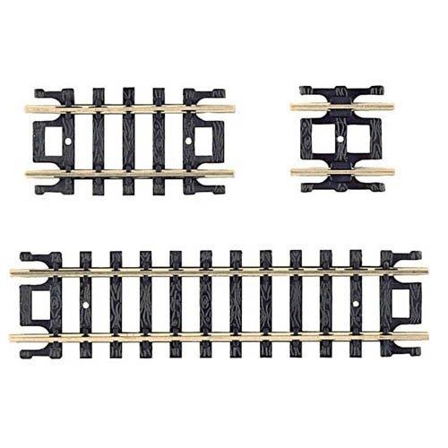 Atlas N Code 80 Nickel Silver Straight Snap-Track Assortment Trains