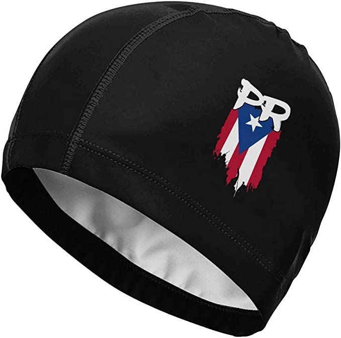 Gorra de natación, Puerto Rico Flag PR Puerto Rican Boricua Swim ...