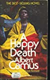 A Happy Death, Albert Camus, 0394718658