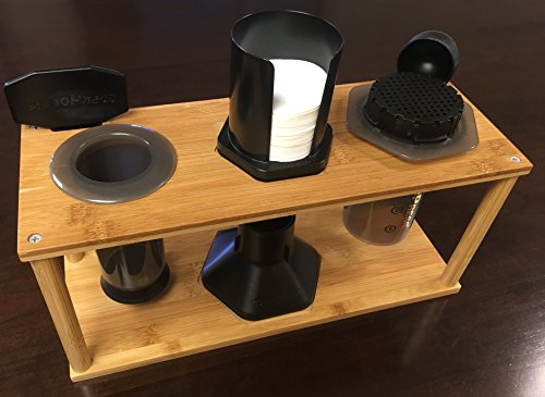 Java Barrel Bamboo Caddy for Aeropress Coffee Maker by Java Barrel (Image #1)