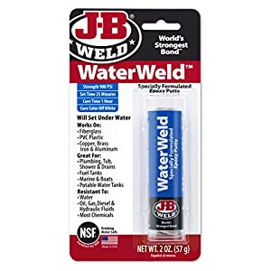 J-B Unite 8277 WaterWeld Epoxy Putty Stick - 2 oz.