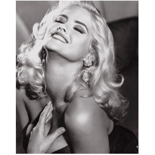 Anna Nicole Smith 8x10 Photo Model Black and White stunning - Celebrity Nicole
