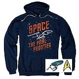 Popfunk Star Trek Pullover Hoodie Sweatshirt & Stickers
