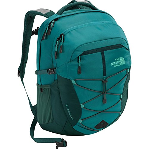 The North Face Women's Borealis Backpack - Harbor Blue/Atlantic Deep Blue - One Size (Past Season) Atlantic Backpack