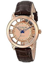 Stuhrling Original Women's 360L.1245K14 Classic Lady Winchester Analog Display Swiss Quartz Brown Watch