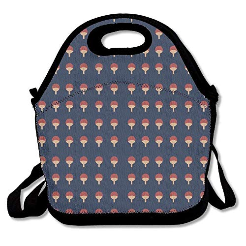 Naruto Logo Lunch Bag Tote Handbag