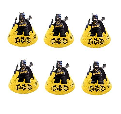 Astra Gourmet Batman Party Cone Hats - 12