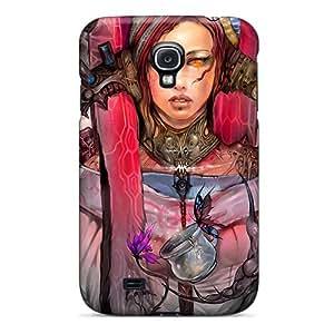 Eriklcoeman Perfect Tpu Case For Galaxy S4/ Anti-scratch Protector Case (fantasy Artistic Girl)