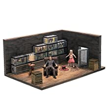 The Walking Dead Construction The Governor And The Fish Tank Room by McFarlane Toys