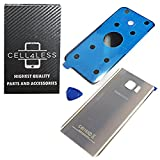 samsung note ii replacement glass - Samsung Galaxy Note 5 Replacement Rear Back Glass Back Cover w/ Removal Tool & Pre-Installed Adhesive - Fits N920 Models ANY CARRIER - 2 Logo (Gold Platinum)