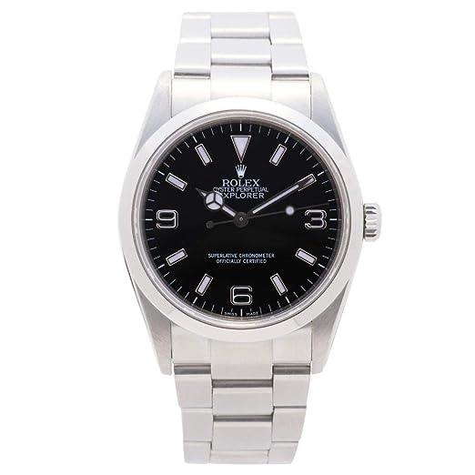 Rolex Explorer automatic-self-wind Mens Reloj 114270 (Certificado) de segunda mano: Rolex: Amazon.es: Relojes