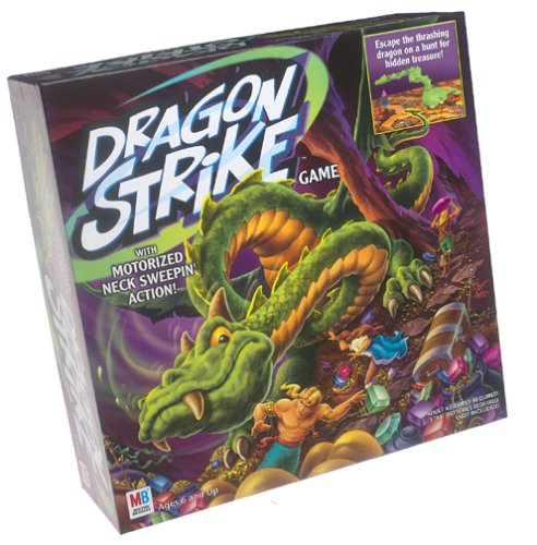Dragon Strike Game: Dragon with Motorized Neck Sweepin' Action; Ages 6 and Up (Dragon Strike Board Game)