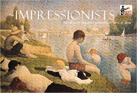 impressionists magnetic postcards