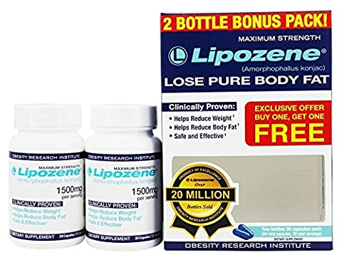 Lipozene Diet Pills - Maximum Strength Fat