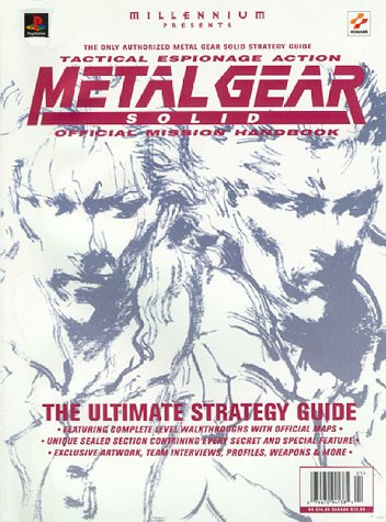(Metal Gear Solid: Official Mission Handbook (Authorized Official Strategy Guide) )