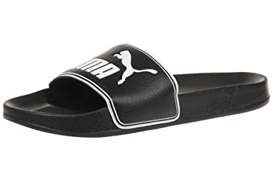 ddc2ccb84c4 Image Unavailable. Image not available for. Colour  Puma Unisex Adults   Leadcat Open Back Slippers