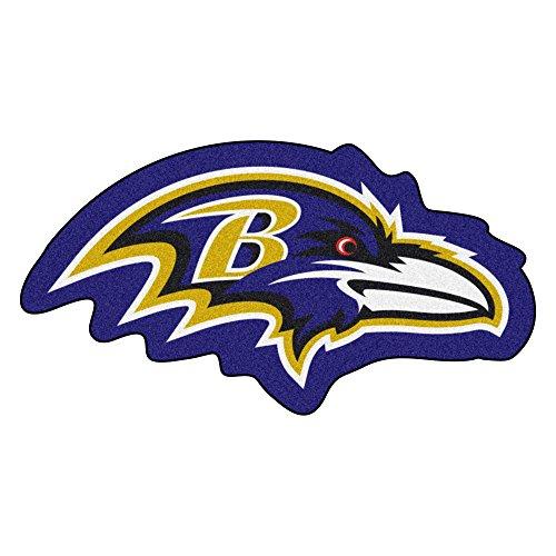 FANMATS 20962 Team Color 3' x 4' NFL - Baltimore Ravens Mascot ()