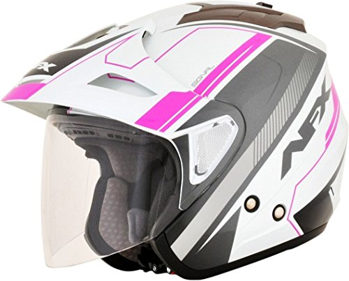AFX 01042026 FX-50 Signal Helmet, Distinct Name: Fuchsia, Gender: Womens, Primary Color: Pink, Size: Sm, Helmet Type: Open-face Helmets, Helmet Category: Street