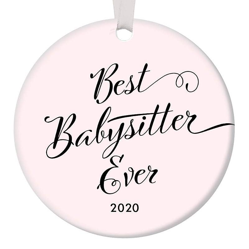 Kids 2020 Christmas Ornaments Amazon.com: Best Babysitter Ever 2020 Christmas Ornament Gift Idea