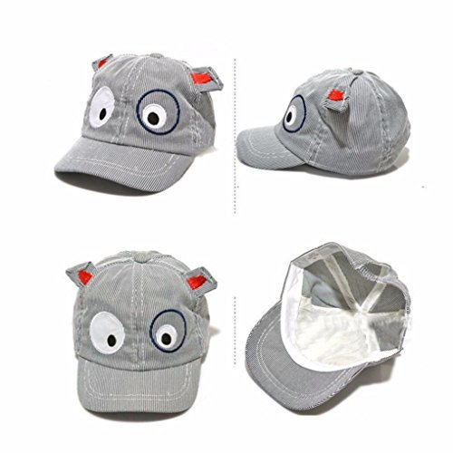 Orangeskycn Kids Hats Baseball Cap Baby Hat Boy Hats for Kids Toddler Hats for Boys (Black)