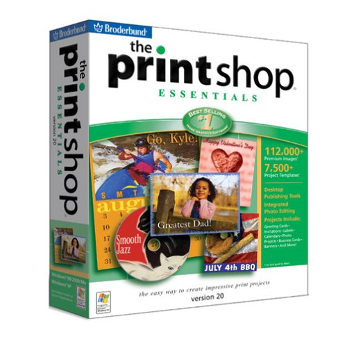 128 Mb Print (The PrintShop 20 Essentials)