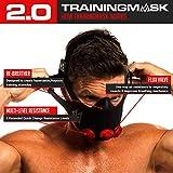 Training Mask 2.0 Original Elevation Training Mask, Fitness Mask, Workout Mask, Running Mask, Breathing Mask, Resistance Mask, Elevation Mask, Cardio Mask, Endurance Mask For Fitness