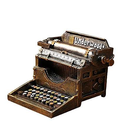 GFEI American Vintage typewriter adornos / decoraciones creativas / vitrina props