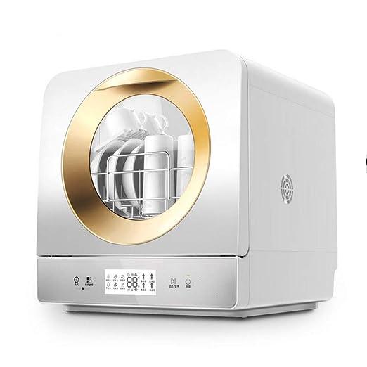 HMLH Mini - lavavajillas, Mini lavavajillas, 6 programas: Eco, una ...