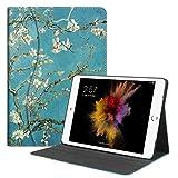 Fintie iPad 9.7 2018/2017, iPad Air 2, iPad Air Case - [Sleek Shield] PU Leather Slim Fit Multi Angle Stand Cover w/Pocket, Auto Wake/Sleep for Apple iPad 6th / 5th, iPad Air 1/2, Blossom