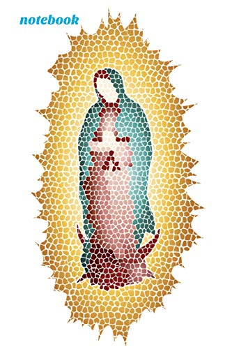 Notebook: Virgin Mary Our Lady Of Guadalupe Book Notepad Notebook Composition and Journal Gratitude Diary por Retrosun Designs