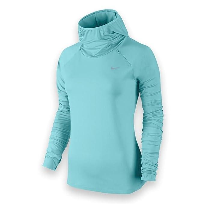 Nike Element Sudadera con Capucha de la Mujer - XS - Copa/Plateado Reflectante: Amazon.es: Deportes y aire libre
